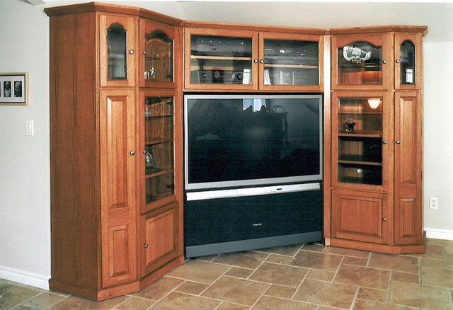 Entertainment Centers & Built-in Niches - Transitional - Home Theater - other metro - by Pacific ...