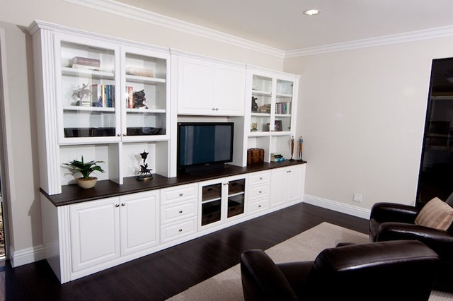 Entertainment Centers Contemporary Home Theater Orange County By Cabinets Plus
