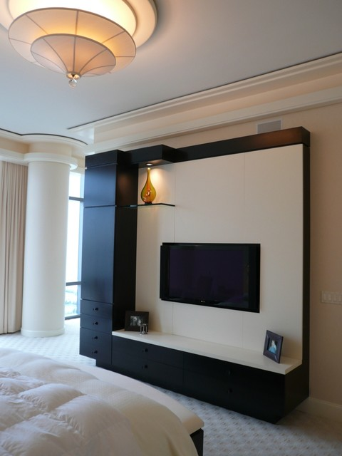 Entertainment - Contemporary - Home Theater - chicago - by Closet Organizing Systems