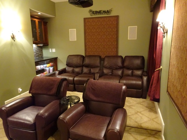 Florida Home Theater Seating Row One