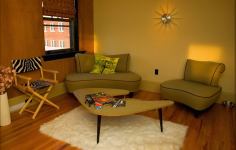 Flying Pig Studio eclectic-home-theater