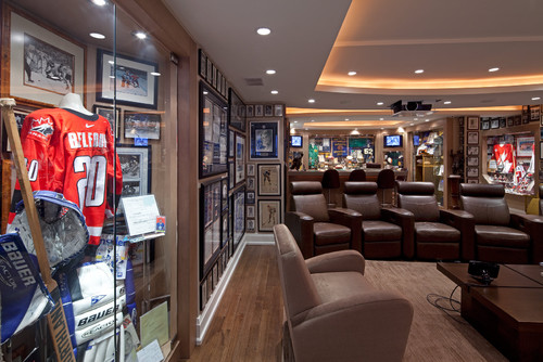 Sport and Entertainment collectors home would be an awesome place to watch the Superbowl