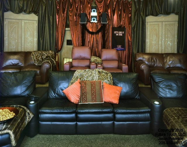 Future Touch Showroom eclectic-home-theater