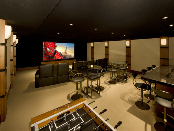 home game room game room home theaters contemporary home cinema cleveland
