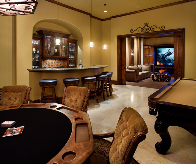 Charming Home Theater Game Room Part - 8: Game Rooms/Media Modern-home-theater