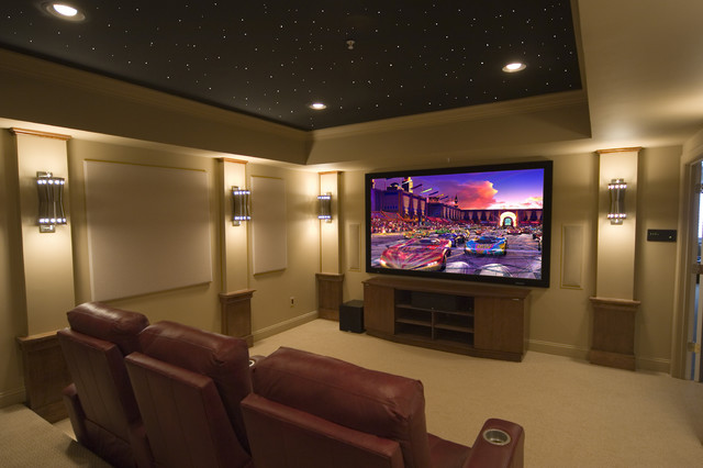 Beautiful Contemporary Home Theater