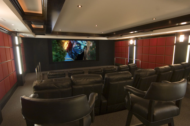 modern media room by Gramophone