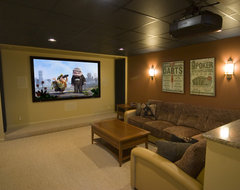 ... contemporary-home-theater
