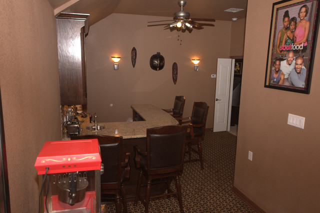 Graves Media Room traditional-home-theater