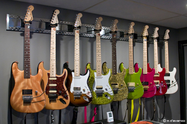 Guitar Hanger MX™ - Contemporary - Home Theater - other metro - by diamondLife