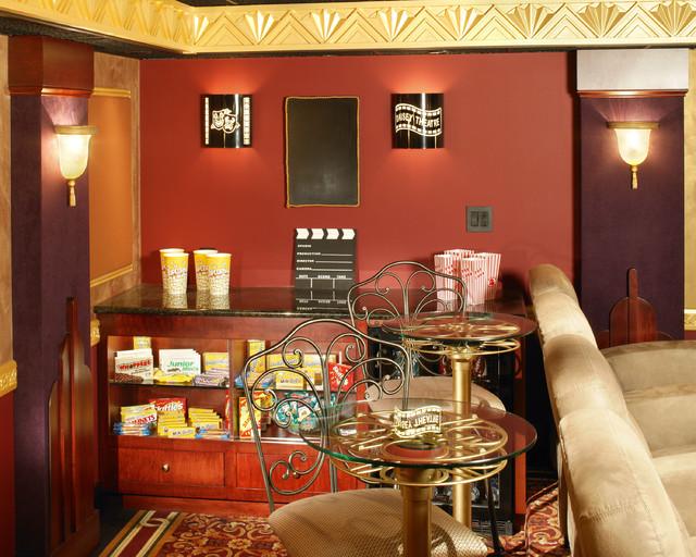 Hgtv Theatereclectic Home Theater Philadelphia