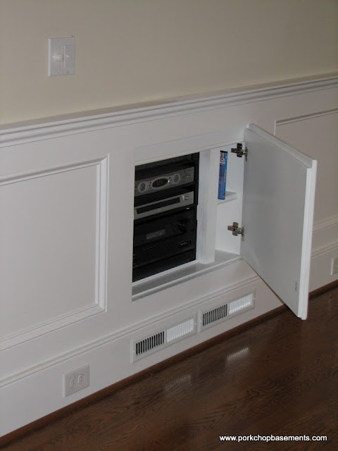 Hidden Audio Video Project - Traditional - Home Theater - Columbus - by 360 Services, LLC