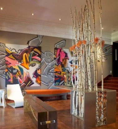 Urban Edge Graffiti As Home Decor Abode