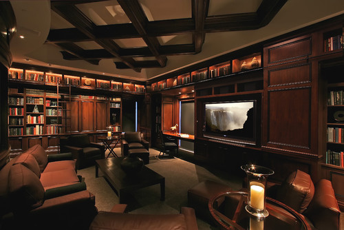 Media Room Design dec-a-porter: imagination @ home: home theaters - examples in design