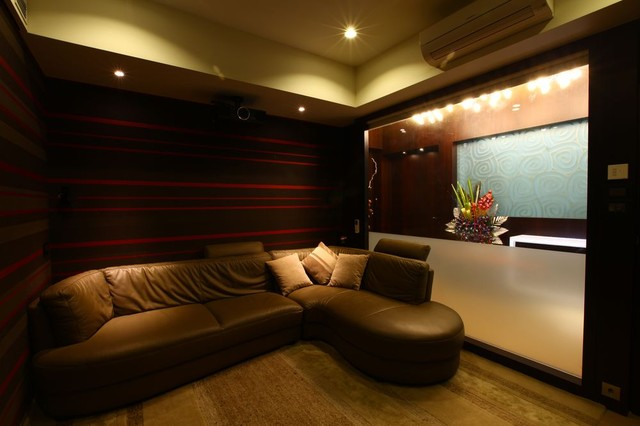Highend Residence contemporary-home-theater