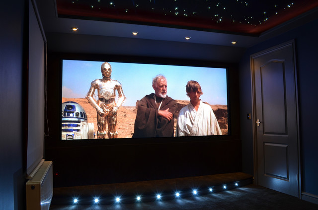 home cinema - modern - home theater - other