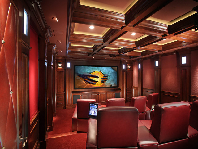 Home Integration traditional-home-theater