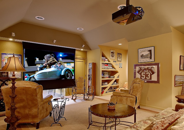Home Projector traditional-home-theater