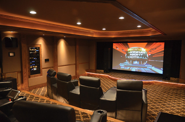 Portfolio of Projects contemporary-home-theater