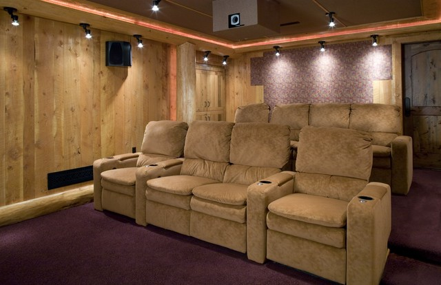 Home Theater contemporary-home-theater