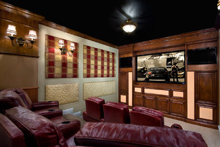 Home Theater In Frenchmen S Reserve Palm Beach Gardens