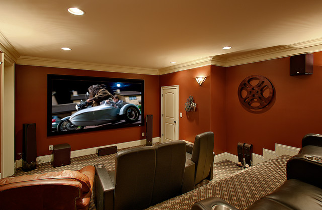 Home Theater Traditional Dc Metro By