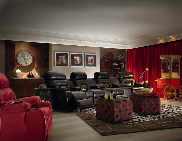 Home Theater Traditional Home Theater Phoenix By
