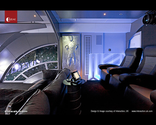Home Theater Star Wars By Cineak Modern Home Theater