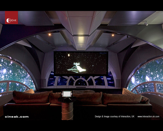 home theater star wars by cineak modern home theater other metro by cineak custom home. Black Bedroom Furniture Sets. Home Design Ideas
