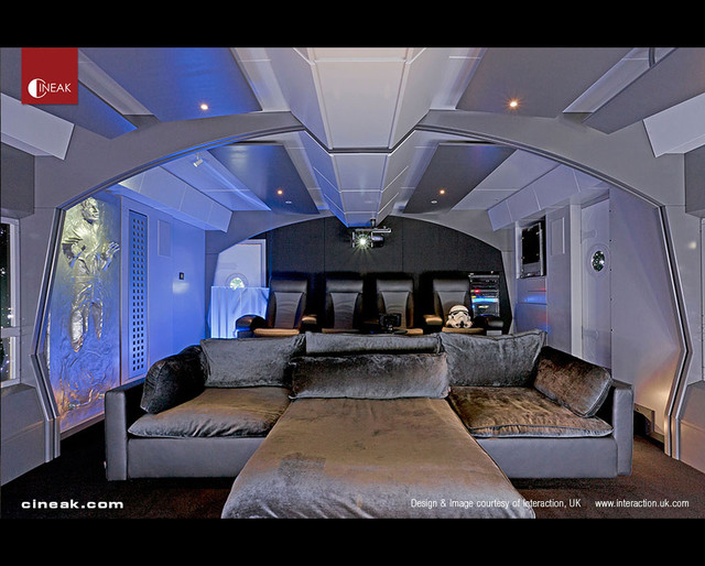 Home Theater Star Wars by Cineak - Contemporary - Home Theater - San