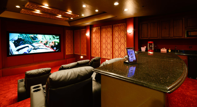 Home Theater Traditional Home Cinema Phoenix By Vm