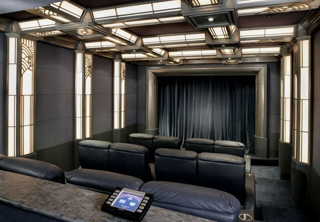 Home Theaters Traditional home theater