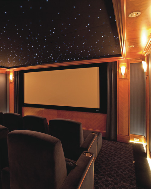 Wall Sconces For Media Room: What Is A Great Color To Use In A Home Theater Room? We