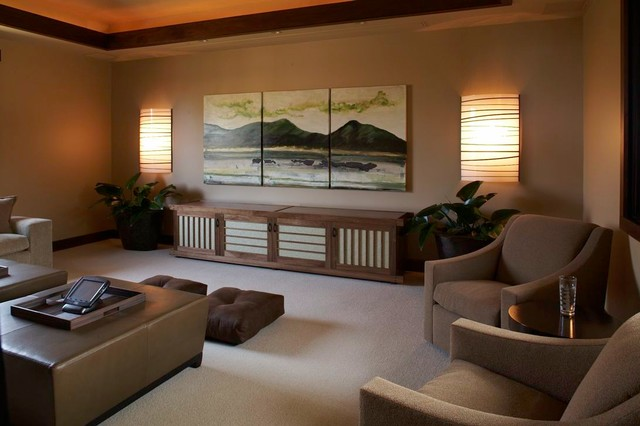 Hualalai Serenity asian-home-theater