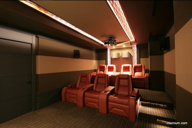Intainium Home Cinemas  media room