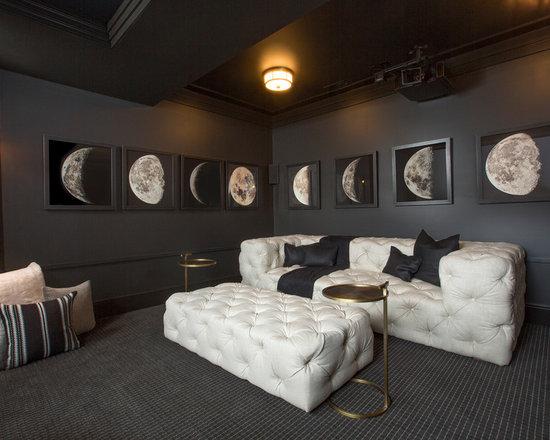 Paint Colors Home Theater Design Ideas Pictures Remodel Decor