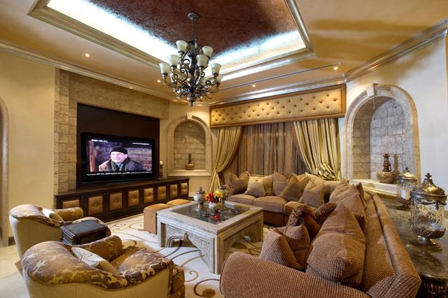 Khawanij Villa, UAE Modern Home Cinema