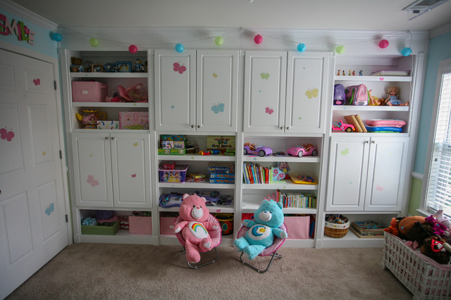Kids play room traditional home theater atlanta by for Rooms to go kids atlanta