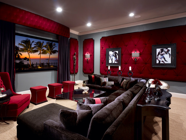 lake mary rustic style residence traditional home millennium systems design showroom home theater