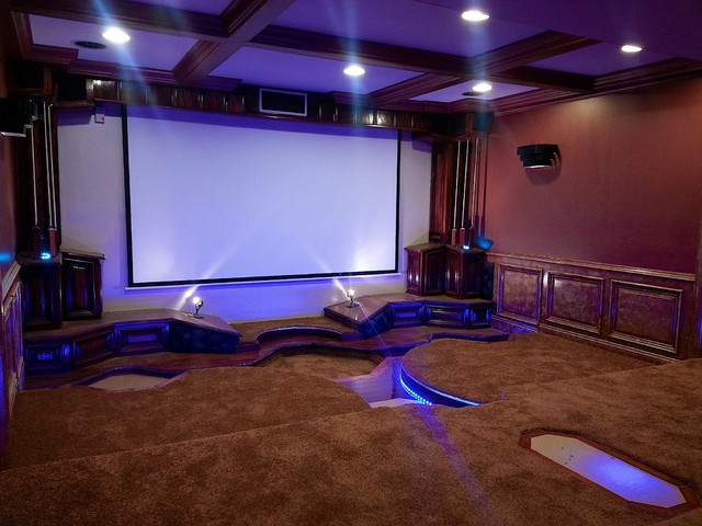 home theater led lighting. Lighting. LED Home Theater Accents Traditional-home-cinema Led Lighting