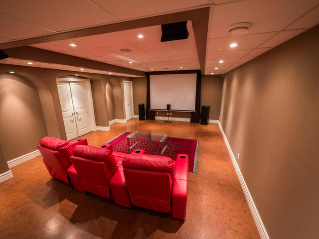 Living Room Family Rooms Bonus Rooms Home Theater