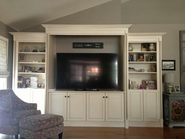Living Room Wall Unit Entertainment Center