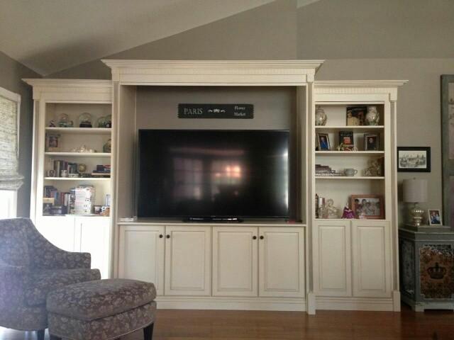 Living Room Wall Unit Entertainment Center