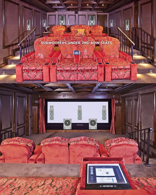 Los Angeles home theaters - Traditional - Home Theater - other metro - by VIA – Los Angeles