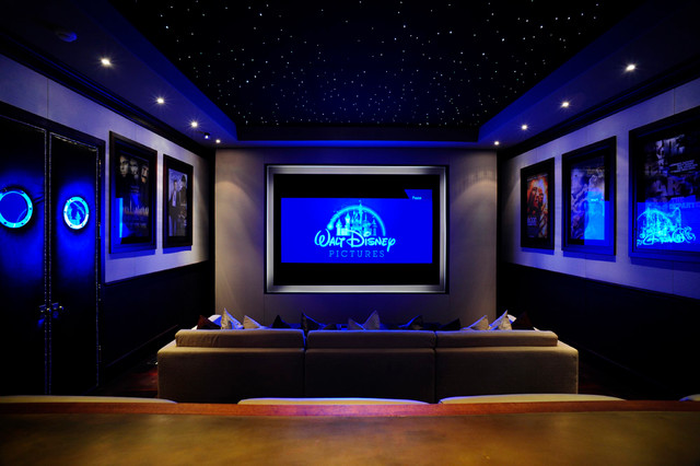 home theater led lighting. Luxor Theater Contemporary-home-theater Home Led Lighting O