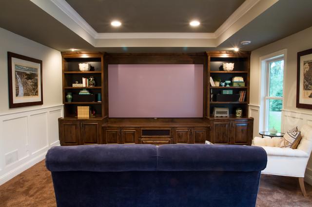 Luxury Basement Remodel In Maple Grove