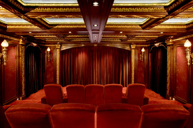 Malinard Manor  Theatre traditionalhometheater