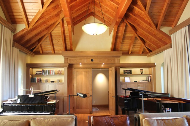 Man Cave Music Room : Man cave music room traditional home theater san