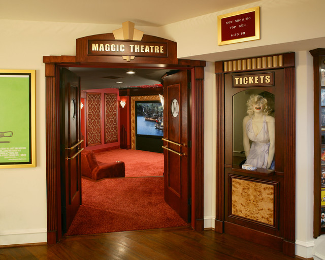 Marilyn Monroe Theater Eclectic Home Theater  : eclectic home theater from www.houzz.com size 640 x 512 jpeg 104kB