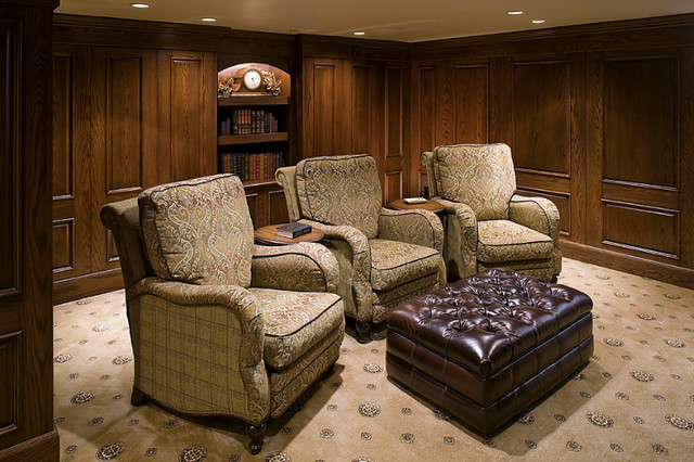 Marland Rd traditional-home-theater